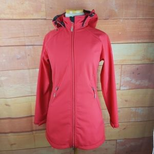 McKinley long soft shield Dry Climate strawberry coat
